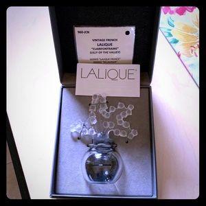 Lalique Clairfontaine perfume bottle